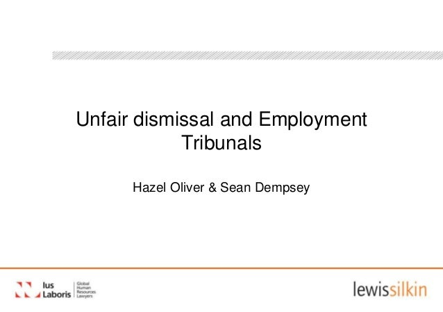 Unfair Dismissal And Employment Tribunals