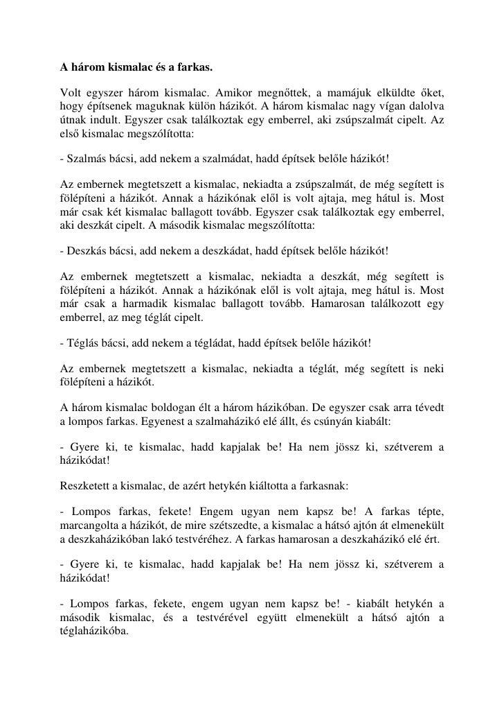 Näiteid Ungari muinasjuturaamatust.