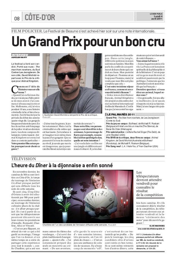 LE BIEN PUBLIC   08          CÔTE-DOR                                                                                     ...