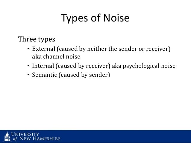 how to reduce noise in your communications by martin england
