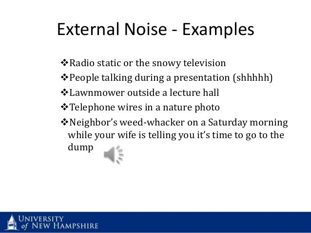 Image gallery external noise for How to reduce noise from windows