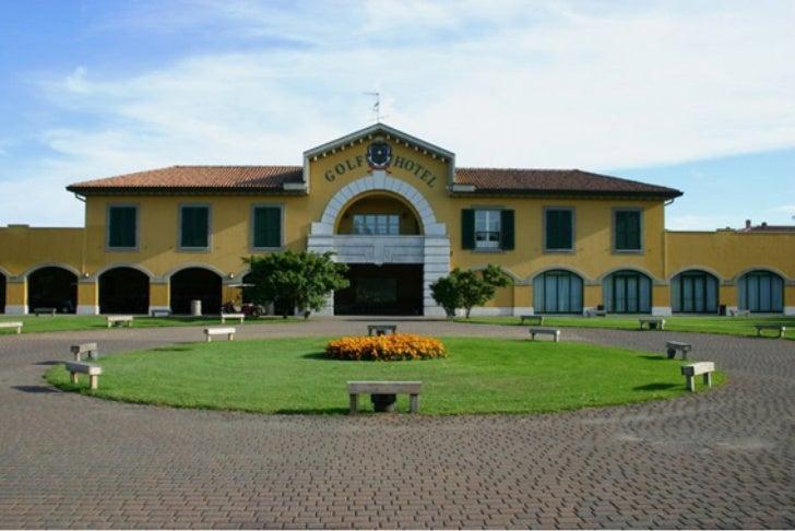 Un hotel per golfisti, per praticare sport nella natura sul lago Maggiore