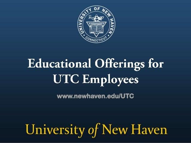 www.newhaven.edu/UTC