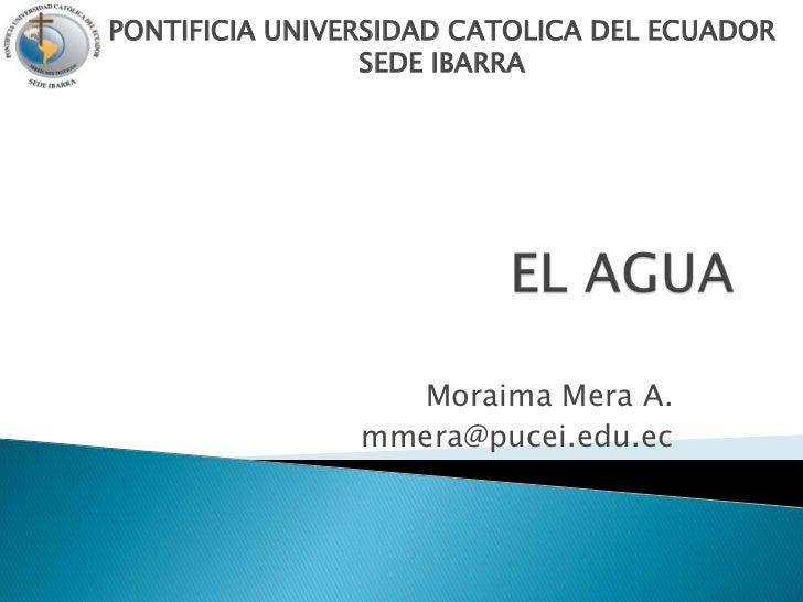 Uni.1 el agua- calidad y conservacion de aguas