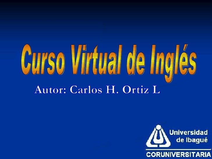 Curso Virtual de Inglés