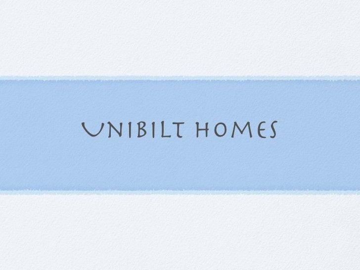 Unibilt Homes