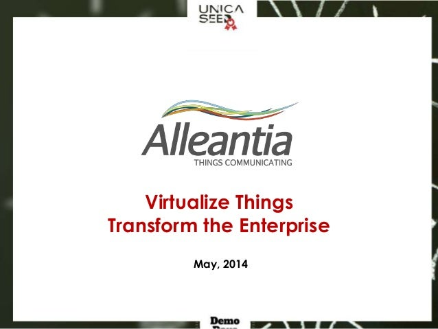 Unicaseed Demo Days - Alleantia