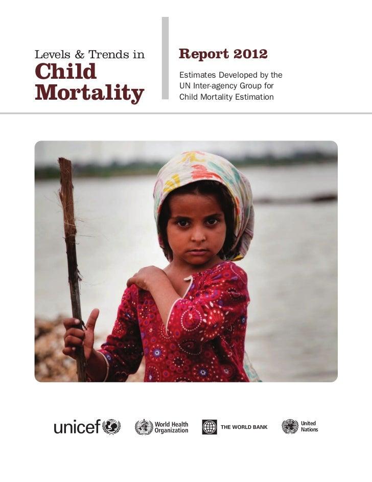 Unicef 2012 Child mortality