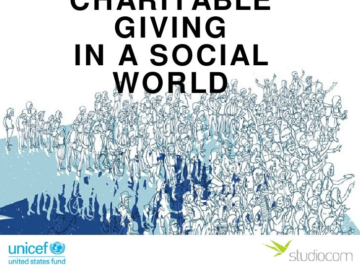 Charitable Giving in a Social World
