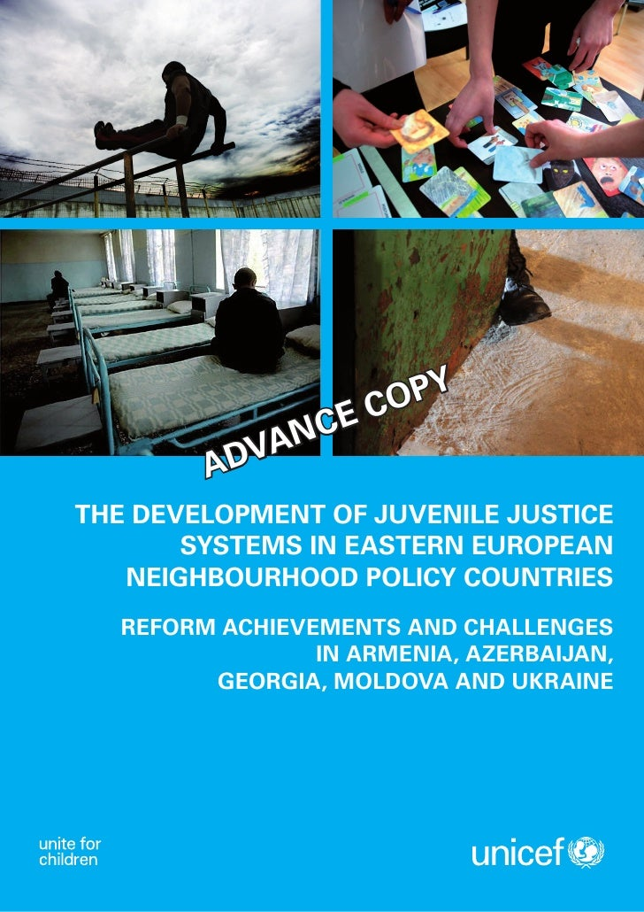 The development of juvenile justice systems in Eastern European neighbourhood policy countries