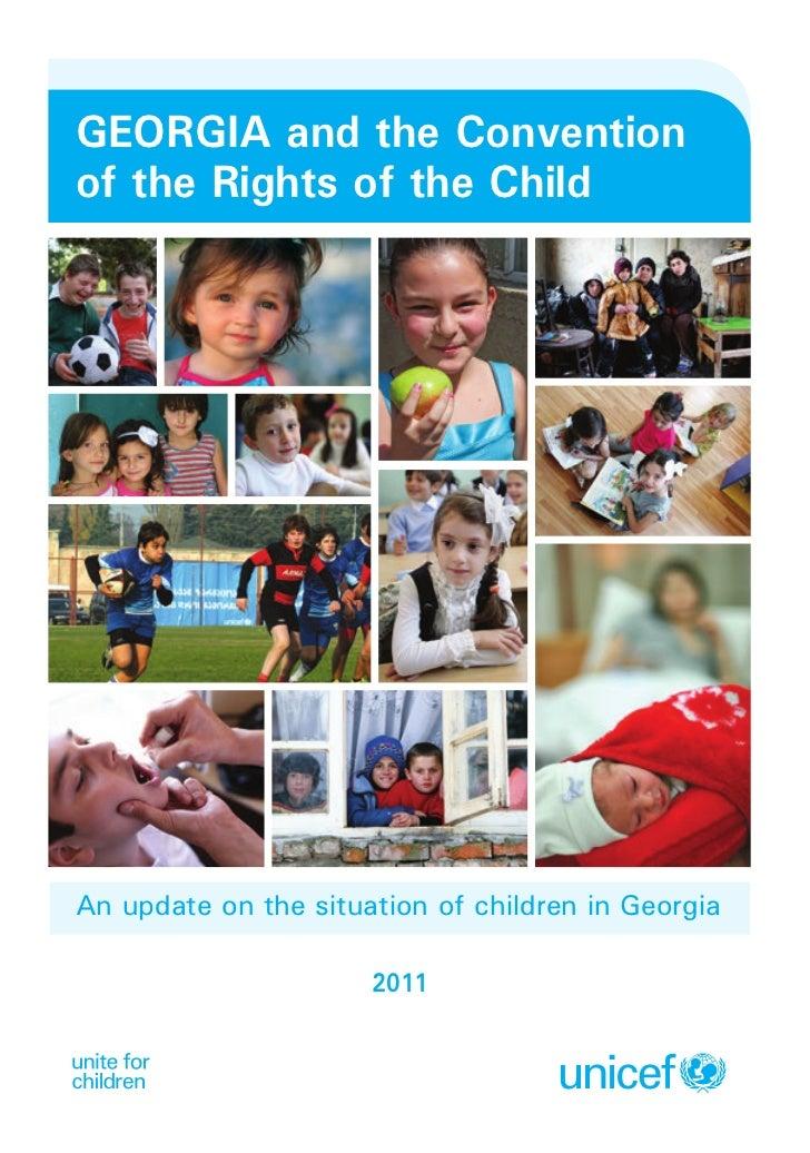 State of the World's Children - Georgia Update 2011