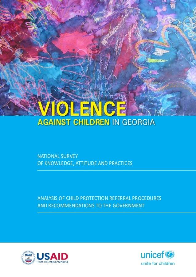Ending Violence against Children in Georgia: Ways Forward