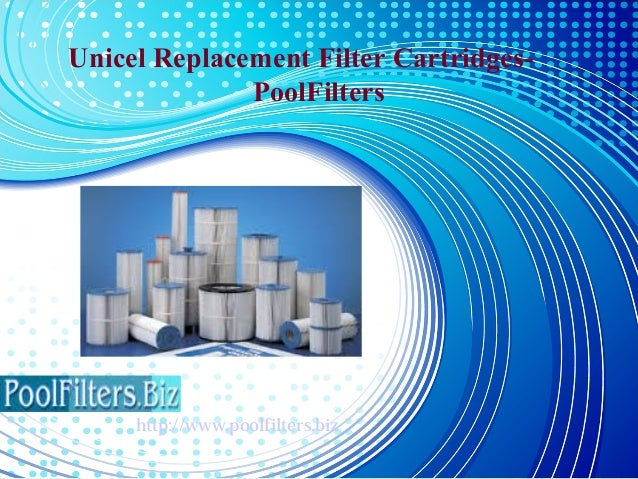 Unicel Replacement Filter Cartridges