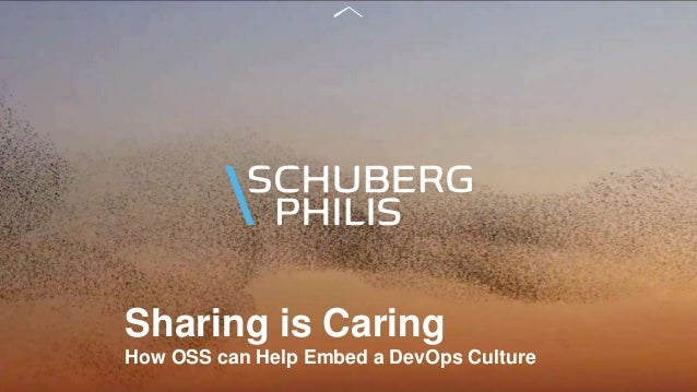 Sharing is Caring How OSS can Help Embed a DevOps Culture
