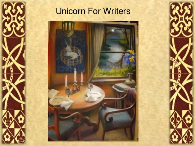 Unicorn for Writers PowerPoint for WEB Design