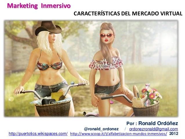 Caracterisiticas del mercado virtual