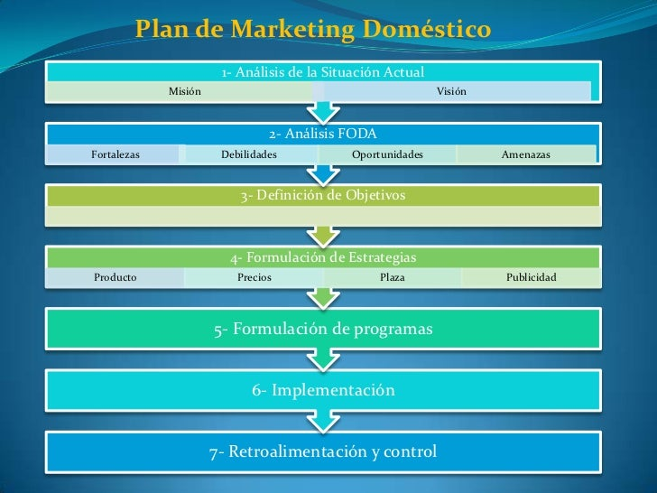 Plan de Marketing Doméstico<br />