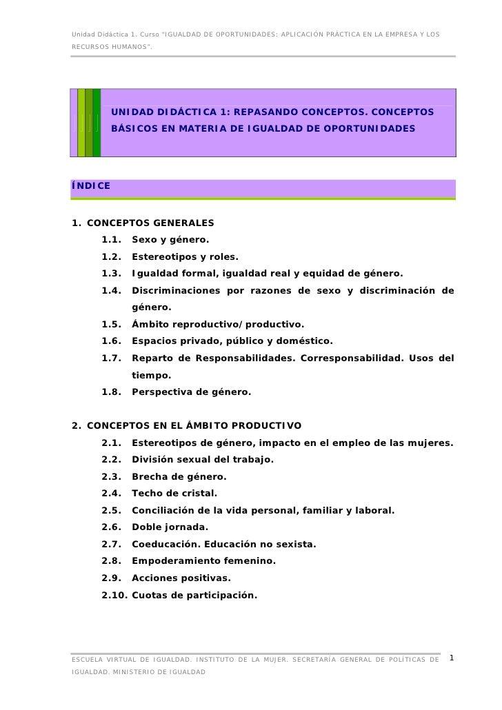 Unidad 1...Conceptos básicos.
