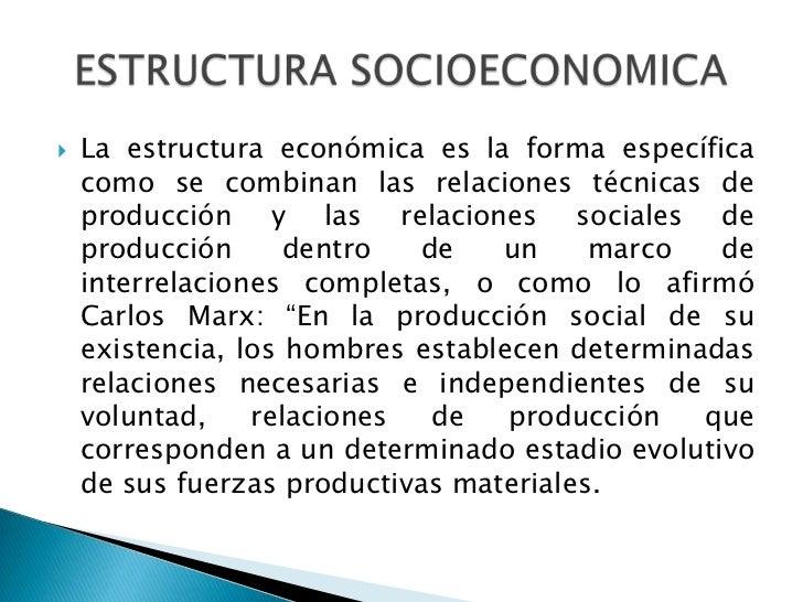 Unidad 1 4 estructura socioeconomica - Como calentar un piso de forma economica ...