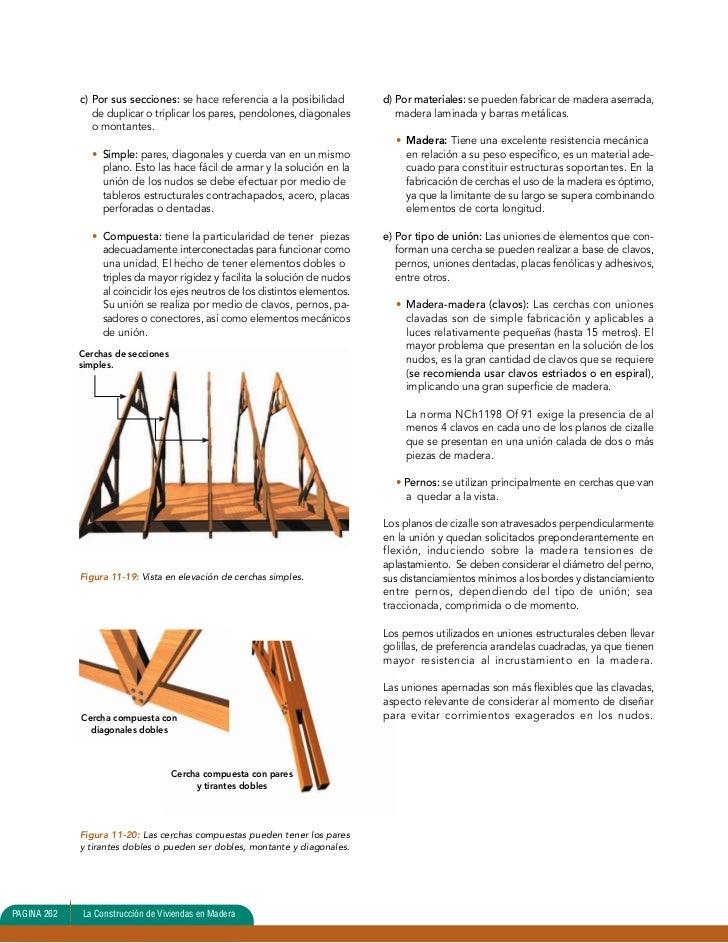 Unidad 11 estructura de techumbre 1 - Estructuras de madera para techos ...