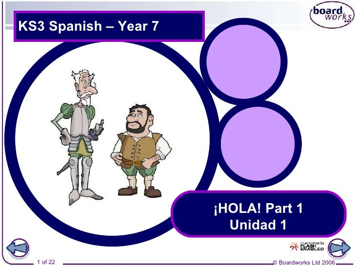 Introduction to Spanish: Hola