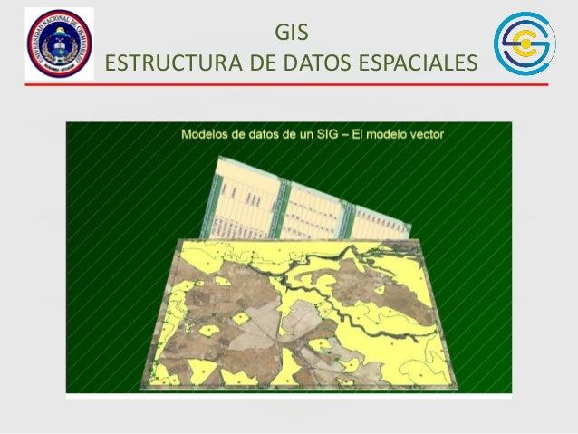 GIS ESTRUCTURA DE DATOS ESPACIALES