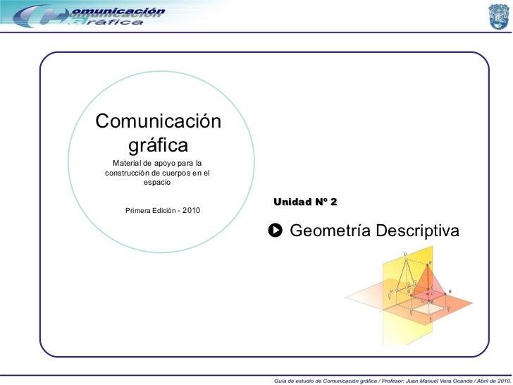 Unidad 2 (Geometría Descriptiva)
