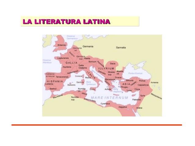 LA LITERATURA LATINA