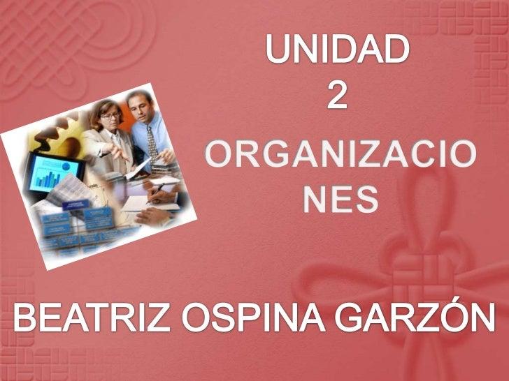 Las organizaciones, pueden ser sociales, religiosas, culturales, etc., y se puedendefinir como el conjunto de personas que...