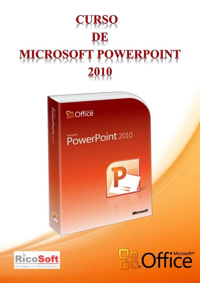Unidad 2 PowerPoint 2010