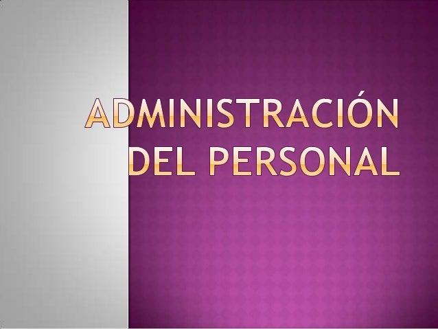 """CONCEPTO:  """"Previsión, organización, comando, coordinación y  control"""" Fayol 1908.Admin. de Personal o ARH. Se administra ..."""