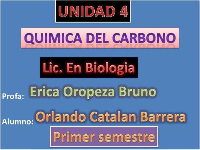 Unidad 4 quimica