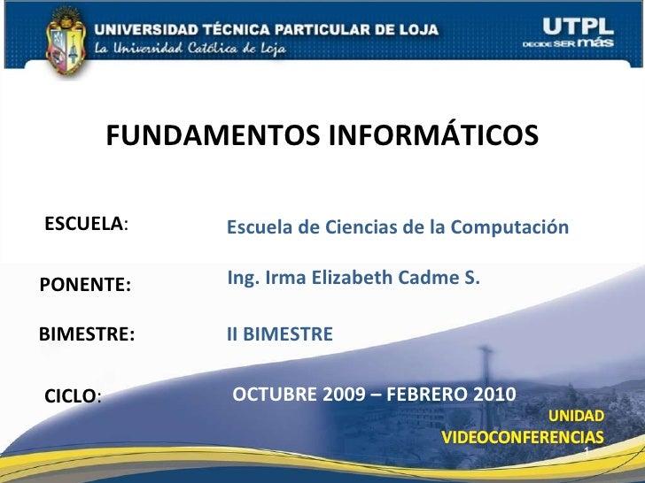 Fundamentos Informáticos II Bim Redes e Internet