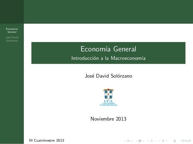 Unidad 5 - Introducción a la macroeconomía