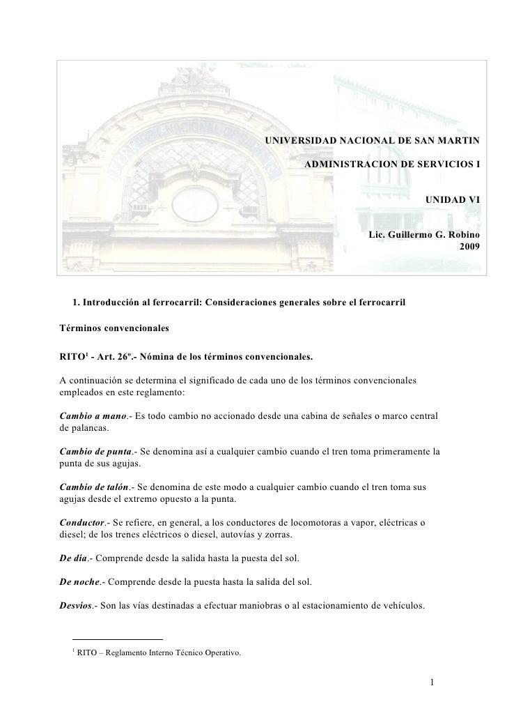 Administracion - Unidad 6