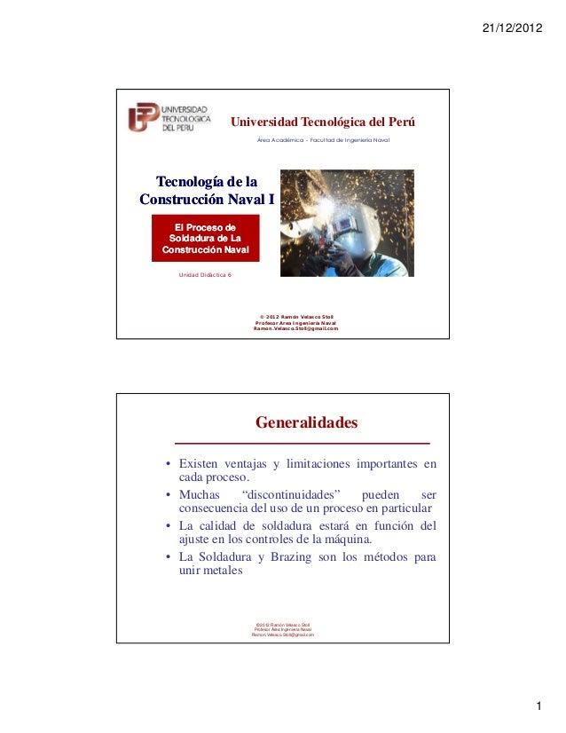 21/12/2012                       Universidad Tecnológica del Perú                              Área Académica - Facultad d...