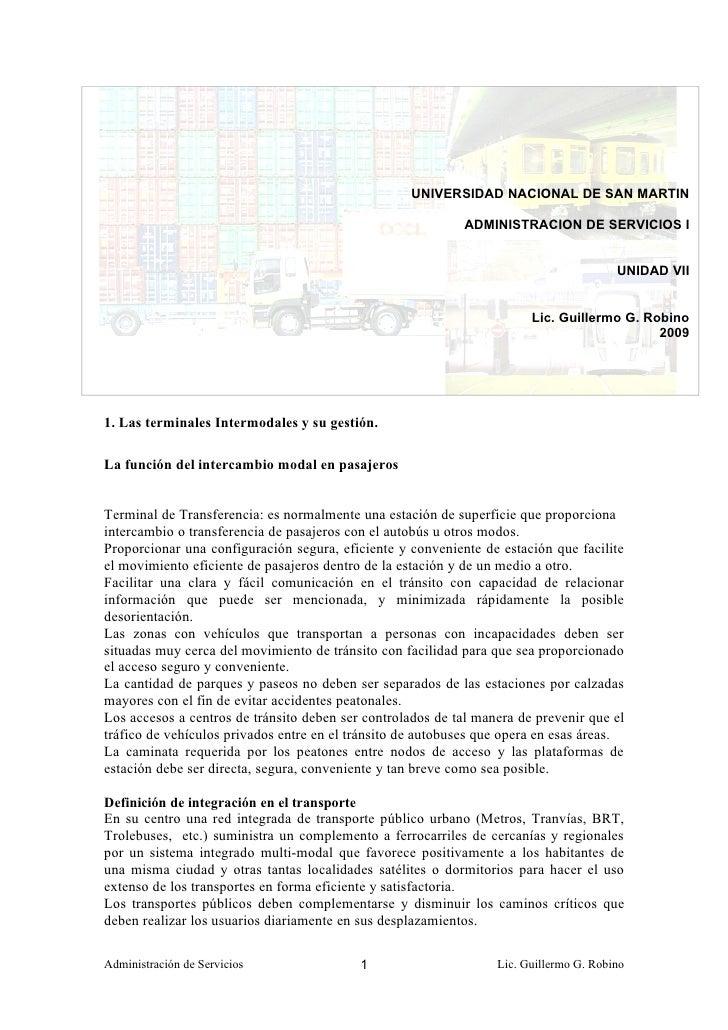 UNIVERSIDAD NACIONAL DE SAN MARTIN                                                              ADMINISTRACION DE SERVICIO...
