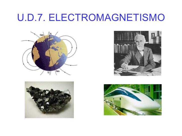 U.D.7. ELECTROMAGNETISMO