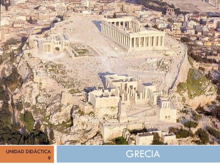 GRECIA UNIDAD DIDÁCTICA 9