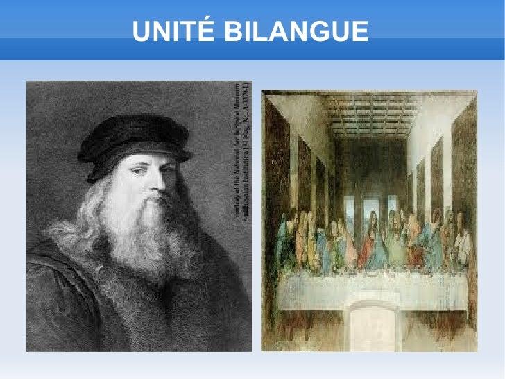 UNITÉ BILANGUE