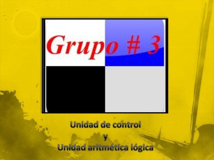 Unidad de control