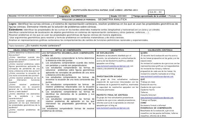INSTITUCIÓN EDUCATIVA RUFINO JOSÉ CUERVO –CENTRO-2011                                                                     ...