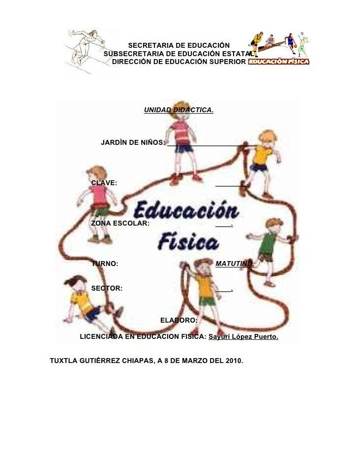 SECRETARIA DE EDUCACIÓN             SUBSECRETARIA DE EDUCACIÓN ESTATAL               DIRECCIÓN DE EDUCACIÓN SUPERIOR      ...