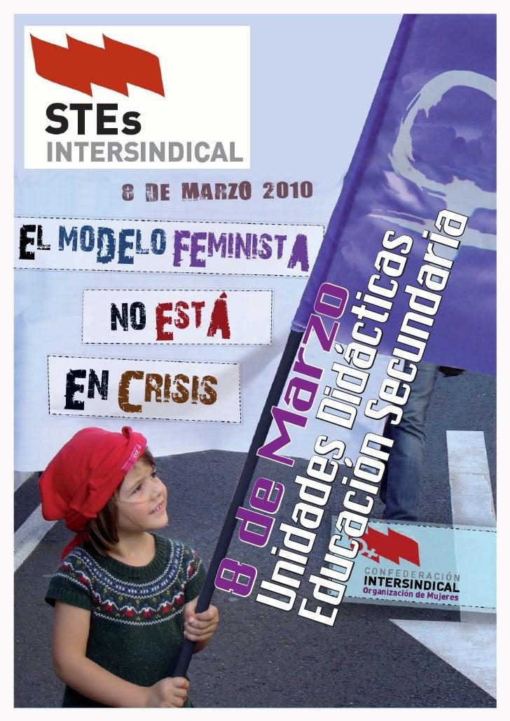 Unidad didáctica  el modelo feminista no está en crisis secundaria
