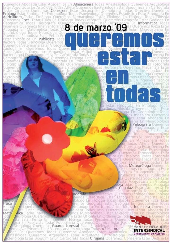 8 de marzo - Día Internacional De Las Mujeres                                                    2009                     ...