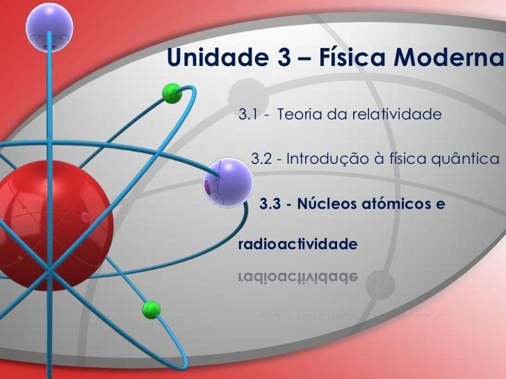 Aplicações da fisica moderna