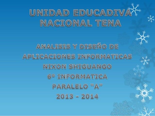 Unidad educadiva nacional tena