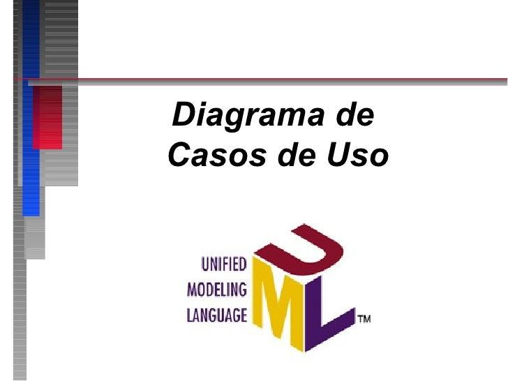 Diagrama deCasos de Uso