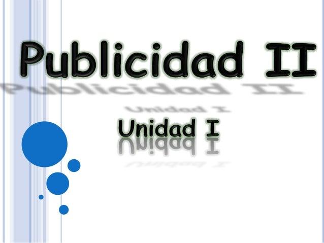 PUBLICIDAD II