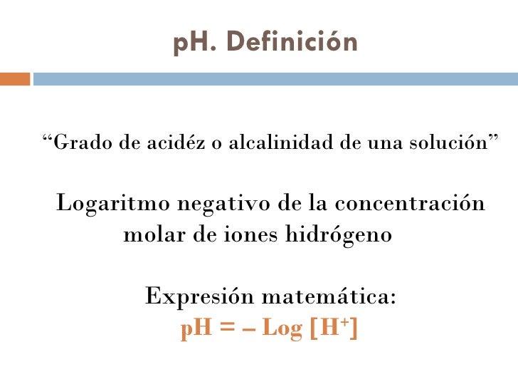 Ph y sistemas buffers for Definicion de gastronomia pdf